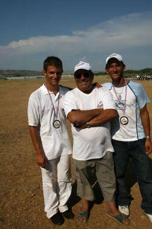 Entraînement pour le championnat de France du 20 au 23 juillet 2006,