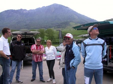 Test de la piste et de l'organisation du championnat d'Europe en suisse pour 2006