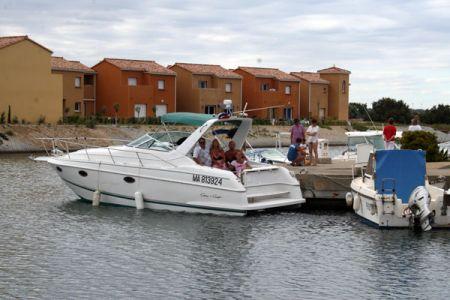 Suite de nos vacances avec notre nouveau bateau,